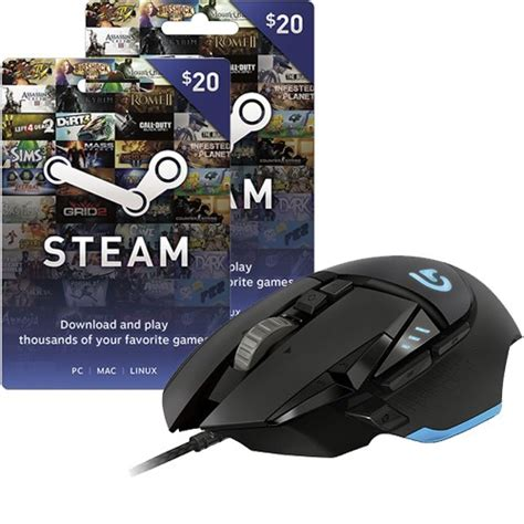 Best Buy Gift Card To Steam - best buy logitech g502 proteus core mouse 40 steam wallet card hot deals