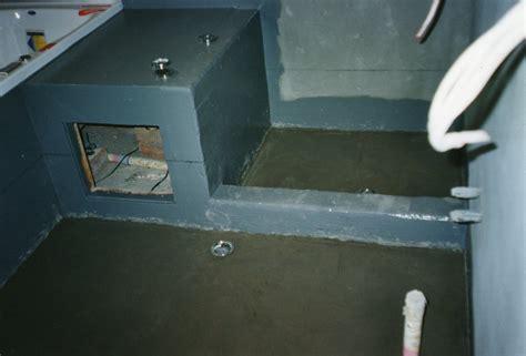 waterproofing for bathroom floors waterproofing a bathroom floor before tiling bathroom