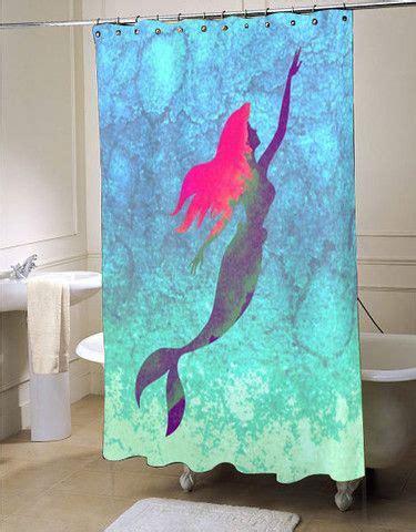 disney little mermaid shower curtain best 25 mermaid shower curtain ideas on pinterest