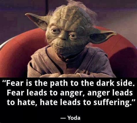 Fear Of A Bad Hairday No Need To Worry With This Hair Blower by Yoda Quotes About Fear Quotesgram