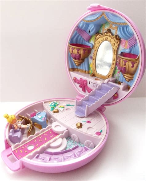 Boneka Vintage Polly Pocket polly pocket grand ballet ballerina compact with doll