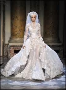 Beautiful Wedding Dress Beautiful Couture Veil Wedding Dress Zuhair Murad