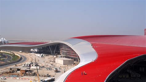 ferrari world video ferrari world abu dhabi opens to public photos 2