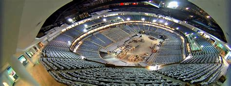 construction progress on the interior of the new