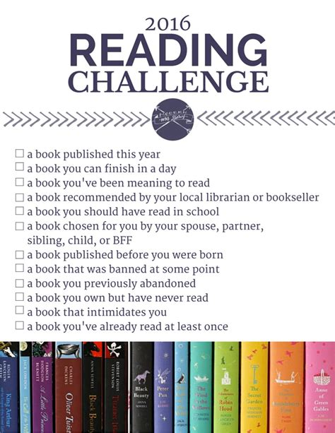 my reading the 2016 reading challenge modern mrs darcy