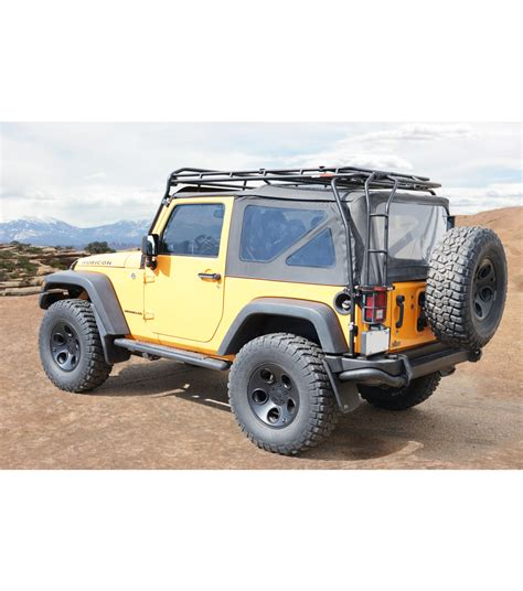 jeep jk jeep jk 2door 183 ranger rack 183 multi light setup gobi racks