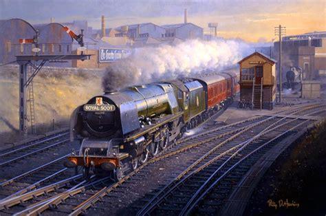 railway paintings  philip  hawkins fgra