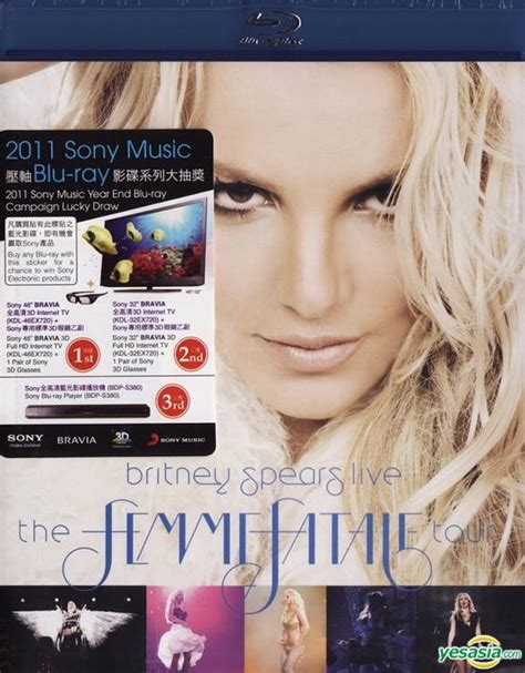 Dvd Live The Femme Fatale Tour yesasia live the femme fatale tour