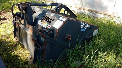 Offset Landscape Rake Bobcat 5b Landscape Rake Sn A3nl11238 5 Ft July
