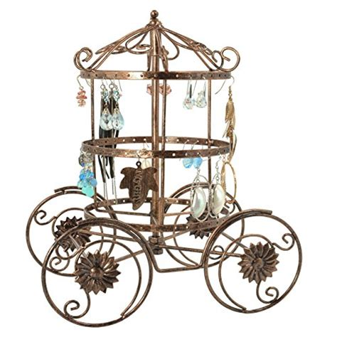 Ring Stand Karakter Disney Limited disney discovery cinderella s carriage jewelry organizer