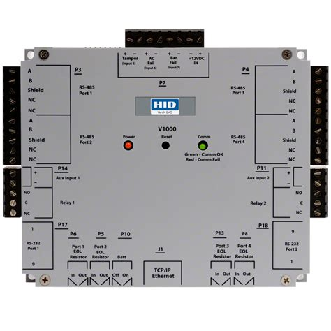 Hid Door Controller by Vertx Evo V1000 Networked Access Controller Hid Global