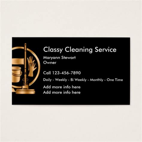 Free Business Card Templates For Cleaning Services by Cleaning Service Business Cards Zazzle