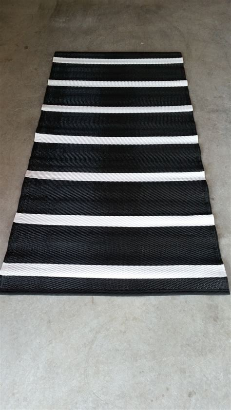 recycled plastic rug stripe design recycled plastic rug trific interiors