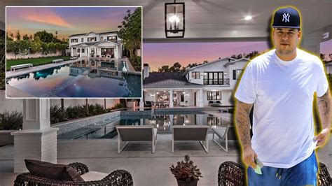 robert kardashian house rob kardashian s new house 2017 inside outside 6 9 million first mansion