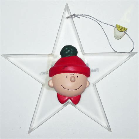 printable charlie brown ornaments charlie brown star christmas ornament collectpeanuts com