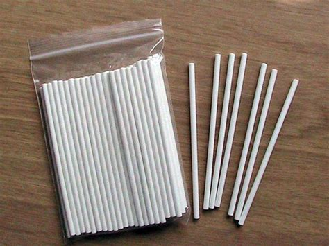 stick paper lollipop sticks