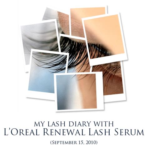 Harga L Oreal Renewal Lash Serum review l oreal renewal lash serum xoxo charlene