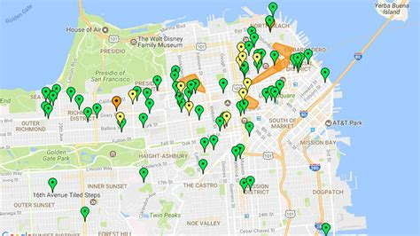 san francisco map power outage 95 000 affected by power outage in in san francisco