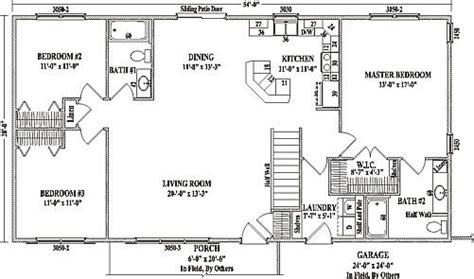 Open Concept Ranch Floor Plans by Open Floor Plans For Ranch Style Homes Archives New Home