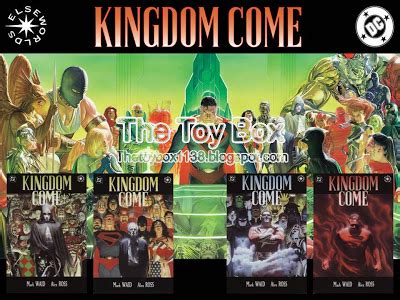 The Jade Kingdom Come Elseworlds Series 2 the box kingdom come dc direct
