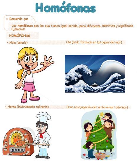 imagenes palabras homofonas somos de quinto las palabras hom 243 fonas