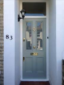 Blue Gray Front Door Modern Country Style My Top Ten Farrow And Front Door Colours