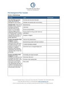 risk management plan template risk management plan template hashdoc