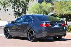 acura tsx custom wheels giovanna mecca 20x et tire size