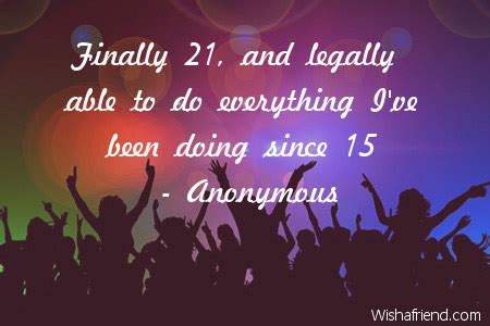 21 Birthday Quotes 21st Birthday Quotes Quotesgram