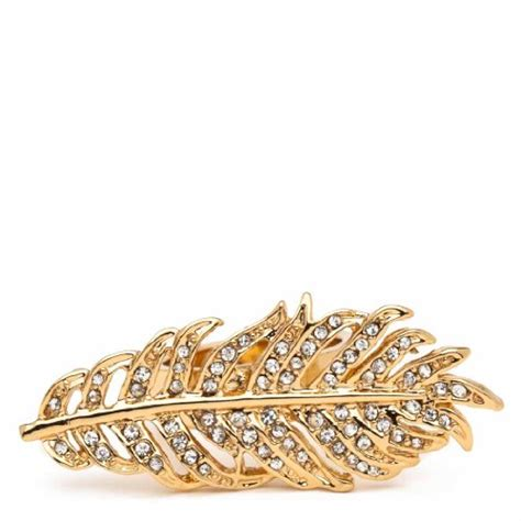 Jewelry: CC Skye Pave Feather Ring   jewelry