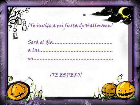 imagenes de halloween invitaciones invitaciones de halloween