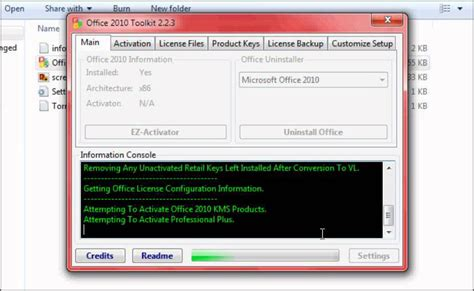 Office 2010 Activator by Warning Microsoft Office 2010 Toolkit And Ez Activator