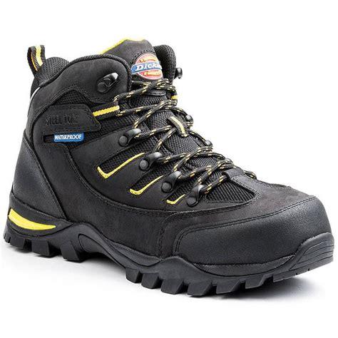 dickies boots steel toe dickies men s steel toe waterproof hiker work boots