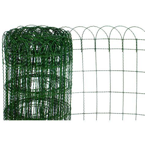 rete per giardini rete ornamentale per aiuole 10 mt x 40h cm mondobrico