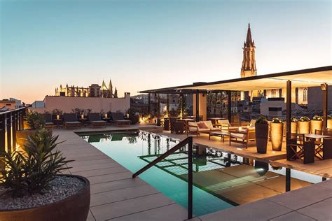 best boutique hotels mallorca 8 hotels with rooftop pools in palma de mallorca