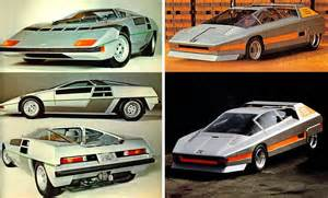 Alfa Romeo Navajo Futuristic Concept Cars From The 70s And 80s Visions