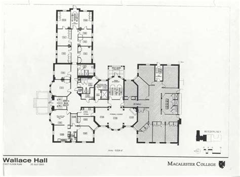 college floor plans wallace hall residential life macalester college