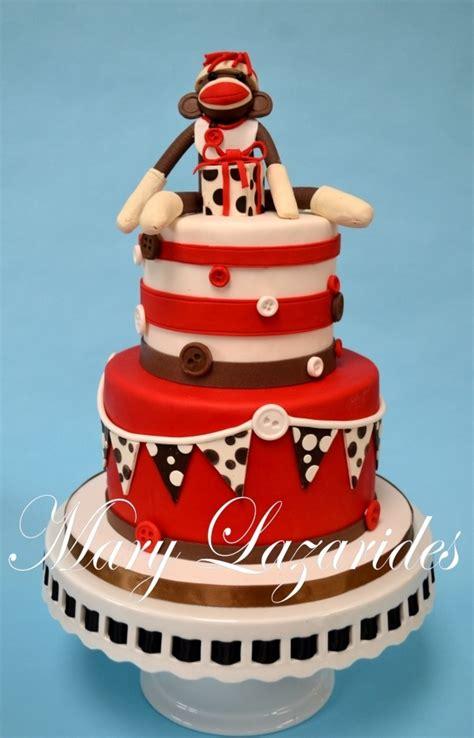 a sock monkey cake sock monkey cake cakes more