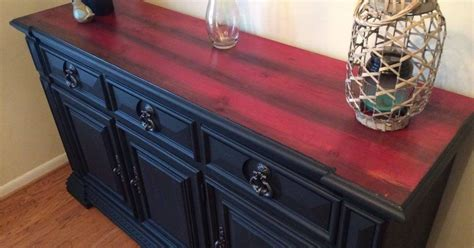 Red Cedar Inspired Upcycled Buffet   Hometalk