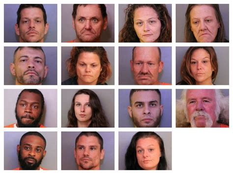 Warrant Search Polk County Fl Polk County Sheriff S Office Arrests 15 In Meth Bust News News Chief Winter