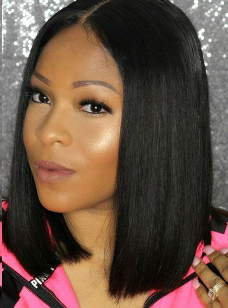 black hairstyles with part in middle 25 best ideas about middle part bob on pinterest middle