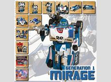 Review of G1 Mirage | TFW2005 - The 2005 Boards G1 Transformers Mirage Review