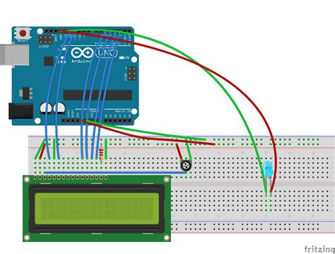 arduino code for lcd fritzing project arduino lcd for python serial control