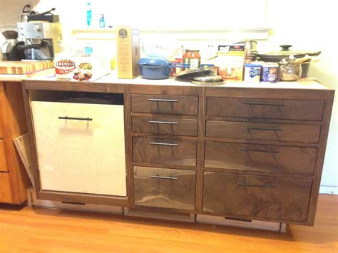 Black Walnut Kitchen Cabinets Black Walnut Kitchen Cabinets Update By Xrayguy Lumberjocks Woodworking Community