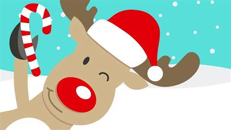 Imagenes Navidad Renos | rodolfo el reno en ingl 233 s con letra villancicos de navidad