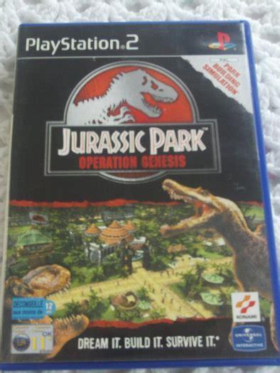 buy jurassic park operation genesis ps2 playstation 2 jurassic park operation genesis for