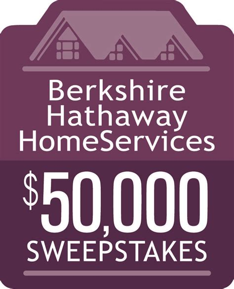 Berkshire Hathaway Sweepstakes - berkshire hathaway homeservices 50 000 sweepstakes