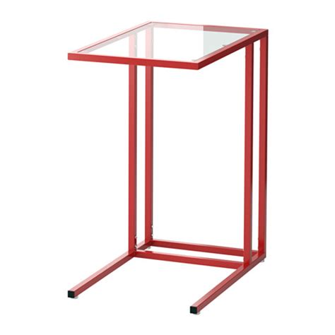 Vittsj 214 Laptop Stand Red Glass Ikea Laptop Desk Ikea