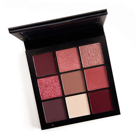 Eyeshadow Huda pretty pink makeup palette review mugeek vidalondon