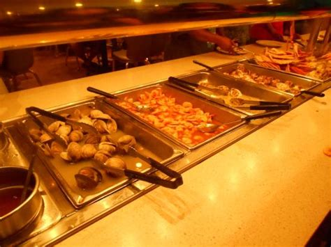 captain georges seafood buffet buffet table picture of captain george s seafood